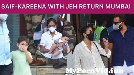 View Full Screen: saif ali khan kareena kapoor taimur amp jehangir return to mumbai 1st proper glimpse of jeh.jpg