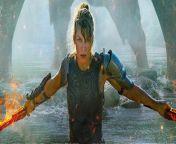 MONSTER HUNTER Film - offizieller Trailer HD - Inhalt: Hinter unserer Welt verbirgt sich noch eine weitere, eine Welt voll gefährlicher und mächtiger Monster, die ihr Territorium mit tödlicher Grausamkeit regieren. Als ein unerwarteter Sandsturm Captain Artemis (Milla Jovovich) und ihre Einheit (T.I. Harris, Meagan Good, Diego Boneta) in eine neue Welt katapultiert, müssen die Soldaten schockiert feststellen, dass in diesem feindlichen und unbekannten Land gigantische und schreckliche Monster leben, die gegen ihre Feuerkraft immun sind. In ihrem verzweifelten Kampf ums Überleben trifft die Einheit auf den mysteriösen Hunter (Tony Jaa), dessen einzigartige Fähigkeiten es ihm ermöglichen, den mächtigen Kreaturen immer einen Schritt voraus zu sein. Als Artemis und Hunter langsam Vertrauen zueinander aufbauen, entdeckt sie, dass er Teil eines Teams ist, das vom Admiral (Ron Perlman) angeführt wird. Angesichts einer Gefahr, die so groß ist, dass sie ihre Welt zu zerstören droht, schließen sich die tapferen Krieger mit ihre außergewöhnlichen Fähigkeiten zusammen, um Seite an Seite im ultimativen Showdown zu kämpfen.<br/>Der Fantasy-Actionthriller basiert auf dem globalen Videospiel-Serienerfolg MONSTER HUNTER.<br/><br/>Neben Milla Jovovich (RESIDENT EVIL Franchise) standen Tony Jaa (xXx: DIE RÜCKKEHR DES XANDER CAGE), Tip 'T.I.' Harris, Meagan Good (Star, Code Black: Ärzte am Limit), Diego Boneta (WENN DU STIRBST, ZIEHT DEIN GANZES LEBEN AN DIR VORBEI, SAGEN SIE), Josh Helman (MAD MAX: FURY ROAD, X-MEN: ZUKUNFT IST VERGANGENHEIT) und Ron Perlman (HELLBOY, PHANTASTISCHE TIERWESEN UND WO SIE ZU FINDEN SIND) vor der Kamera.<br/><br/>Das Drehbuch zu MONSTER HUNTER stammt von Paul W.S. Anderson, der auch Regie führte. Produziert wird MOSTER HUNTER von Jeremy Bolt und Paul W.S. Anderson von Impact Pictures, Robert Kulzer sowie Martin Moszkowicz von Constantin Film. Dennis Berardi, Head of VFX bei dem Film, fungiert ebenfalls als Produzent. Die Dreharbeiten fanden im Oktober 201