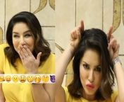 Sunny Leone's emoji funny video goes viral. Sunny Leone doing this during lockdown. Watch video to know more.<br/><br/>#SunnyLeone#SunnyEmojiLookVideo#DanielWeber