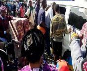 Erneuter Ausbruch des Vulkans Nyiragongo befürchtet: Teil-Evakuierung der Millionenstadt Goma in der Demokratischen Republik Kongo