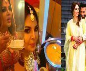 Rakhi Sawant shows Rahul Vaidya andDisha Parmar Wedding Food Menu.Watch Out<br/><br/>#Dishul #RakhiSawant