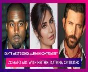 """Kanye West'sDondaarrivedon August 29, following weeks of delay. It is a two-hour, 27 track-long album. It features a big list of special appearances, including from Jay-Z, The Weeknd, Travis Scott and Lil Baby. Marilyn Manson, who is accused of rape and sexually and psychologically abusing many women and DaBaby, who recently sparked anger for homophobic remarks during a performance are credited on West's 10th studio album. Chris Brown is listed as a composer and lyricist on the trackNew Again. Brown has pleaded guilty to abusing mega star Rihanna in 2009.Meanwhile, Westhas claimed that his label, Universal Music Group, releasedDondawithout his approval. Food deliveryplatform Zomato has landed itself in trouble. It faced immense flak for its recent ad campaign. Hrithik Roshan and Katrina Kaif are part of the two ads. The Zomato ads receivedcriticism from their followerson Twitter. Many called the ads 'tone-deaf'. People said the ads show the fact that the delivery executives are extremely overworked & are not allowed to relax even for a minute. Others suggested thatZomatoshould pay better wages to their workers than spending on advertisements featuring Bollywood celebs. Zomato said, """"We believe that our ads are well-intentioned, but unfortunately misinterpreted by some people."""""""