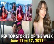 Ito ang sampung pinakabinasang istorya sa PEP.ph (Philippine Entertainment Portal) ngayong linggo ng June 11 - 17, 2021. <br/><br/>I-click ang link sa ibaba ng mga titulo ng istorya.<br/><br/>1. Conservative fans ni Sharon Cuneta, \