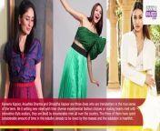 Learn the sexy pleated skirt fashion from Kareena Kapoor, Anushka Sharma and Shraddha Kapoor